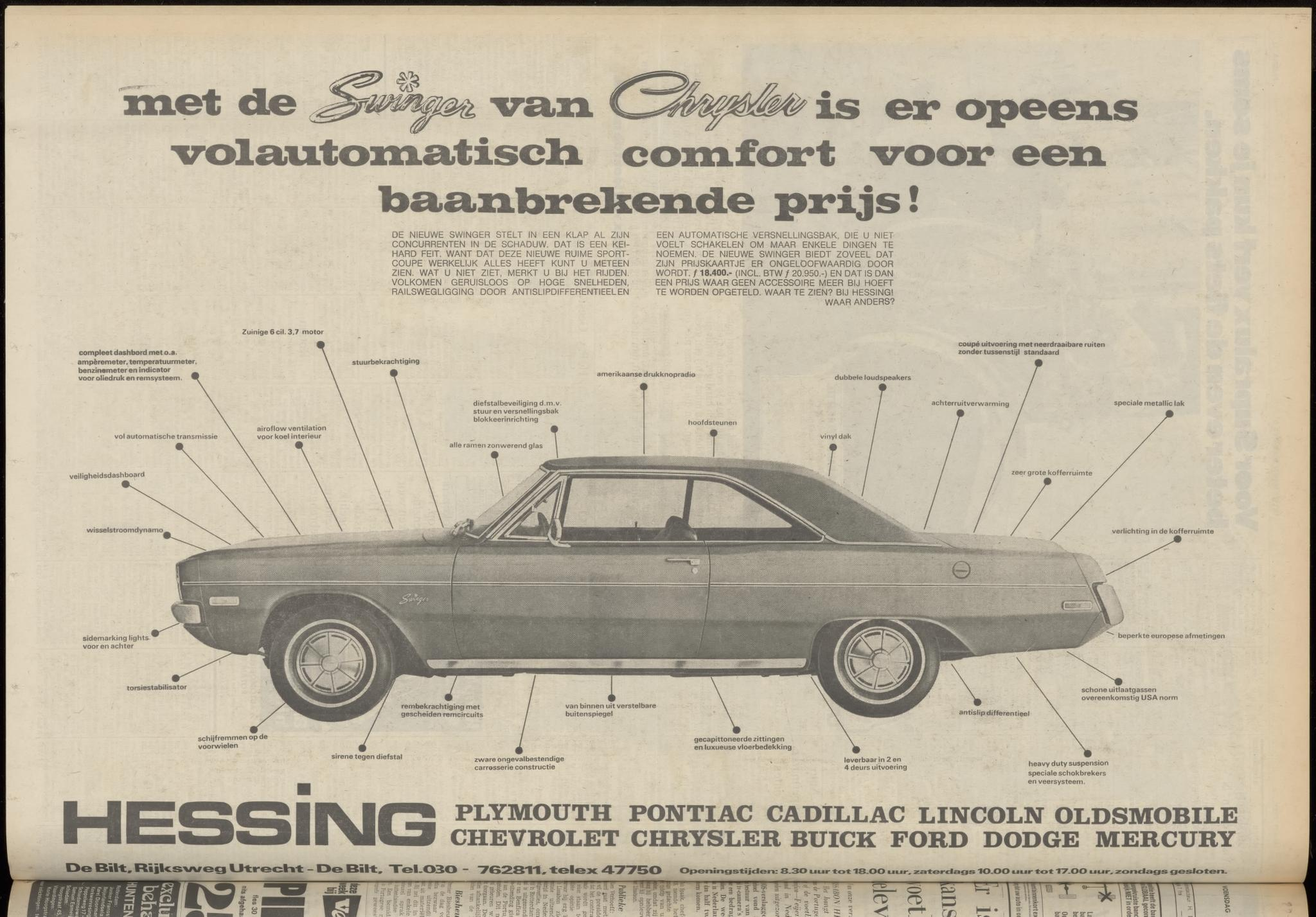 1972 AD dodge