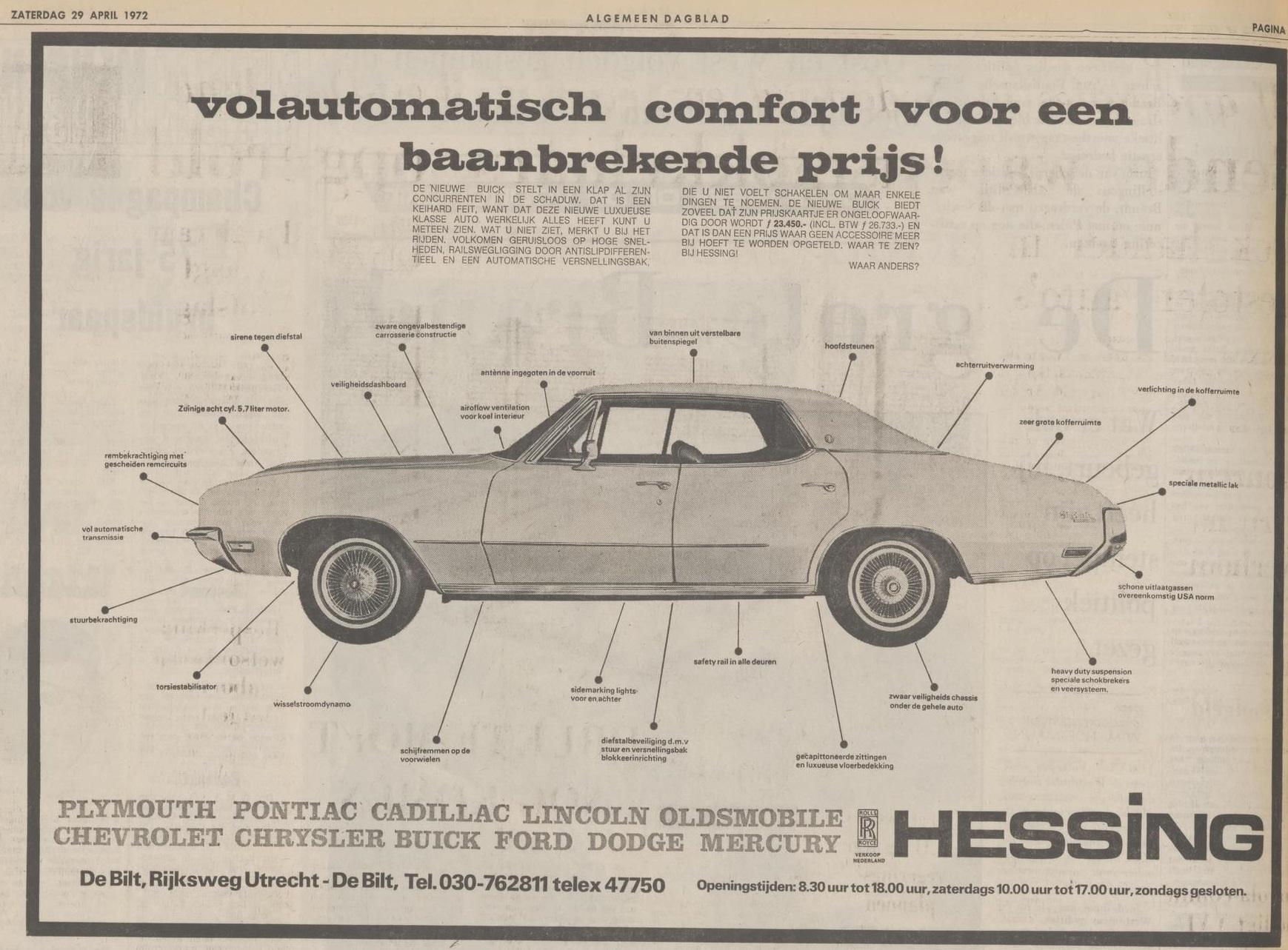 1972 AD pontiac