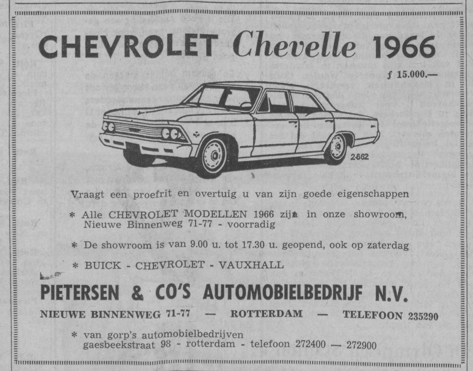 1966 6 mei Nieuwe Schiedamse courant