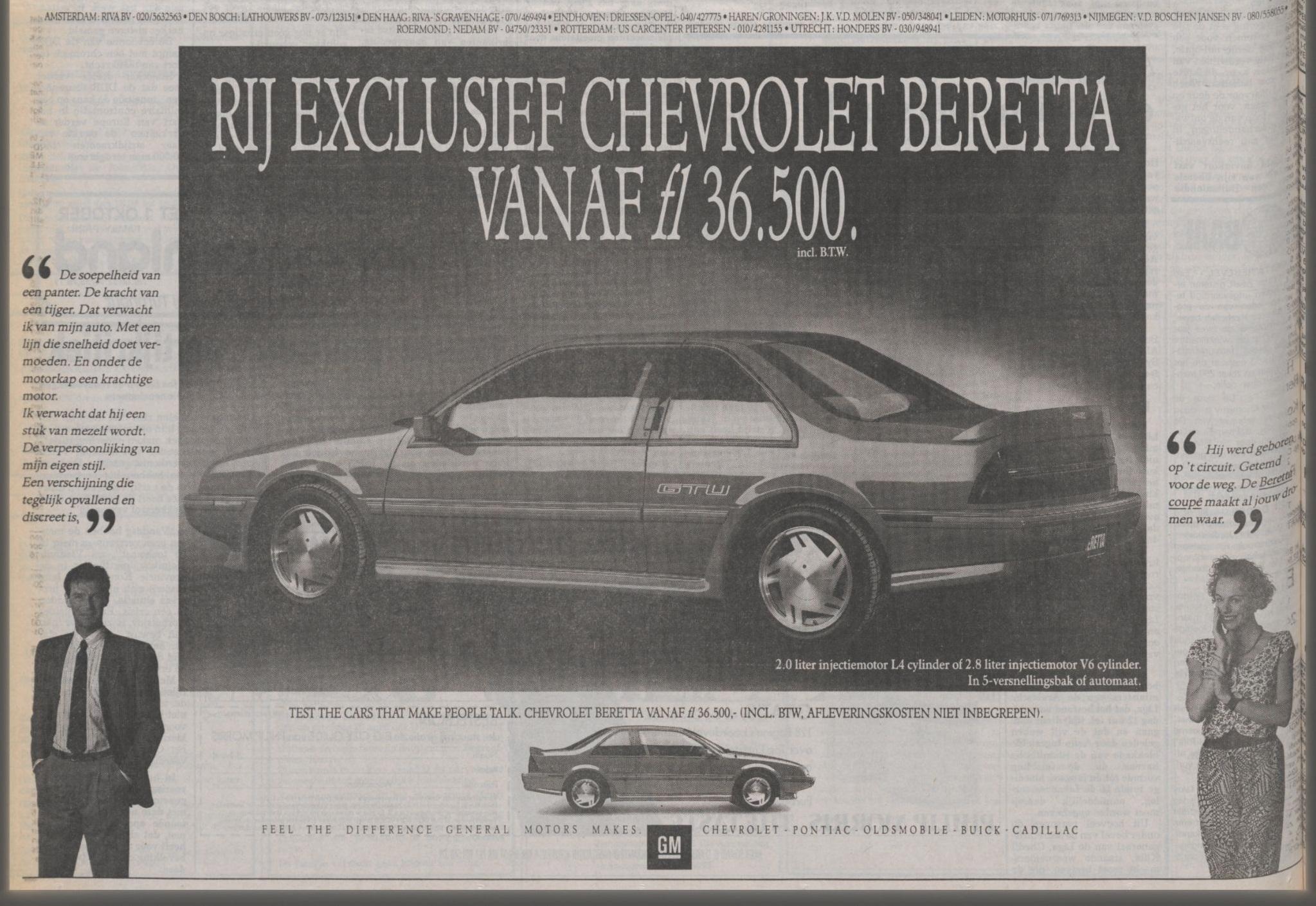1989 beretta