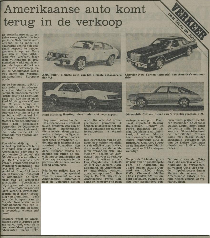 Amerikanen 13 februari 1979 Leidsch Dagblad