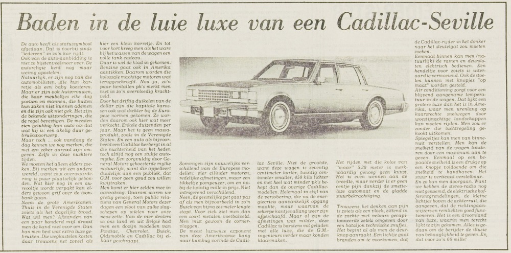 Seville 10 april 1976 Leidsch Dagblad