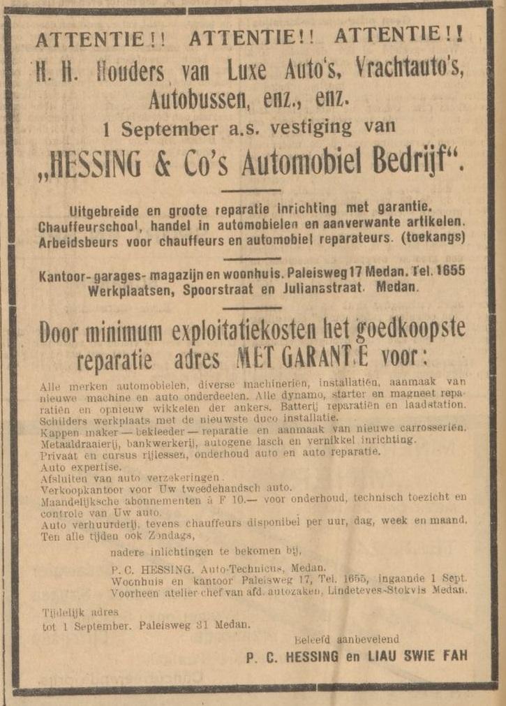 14-08-1931 Deli Courant