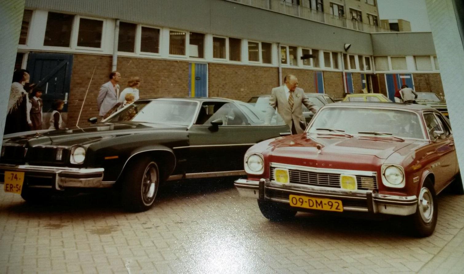 Pontiac LeMans Coupe en Buick Apollo