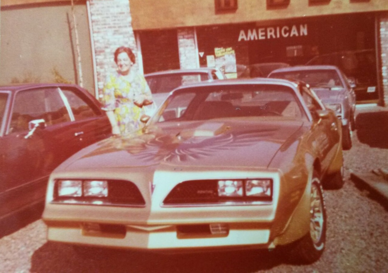 oma en Transam 1978