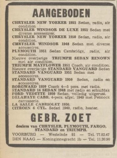 1952 vaderland 7 juni
