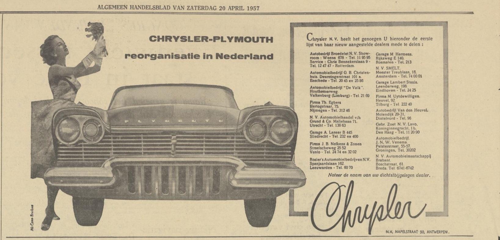 1957 20 april algemeen handelsblad