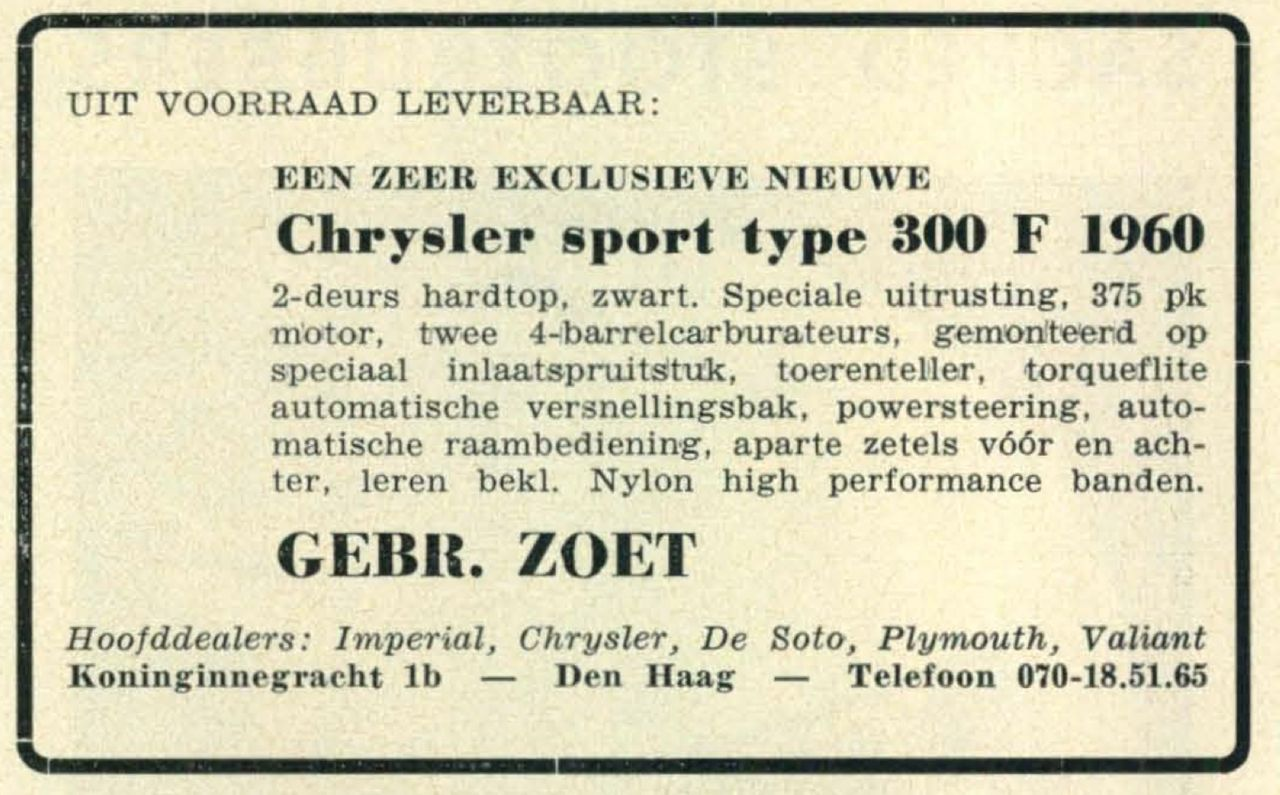 1960 autovisie